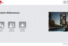 Virtueller Portier eConcierge Beispiel