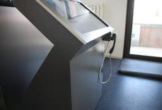 Seitenansicht Cube Terminal, digitaler Portier
