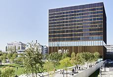 Referenz FHNW Campus Muttenz, Gebäudeansicht aus Distanz