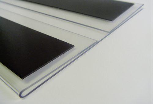 Schild Slim Magnetic ohne Papiereinlage