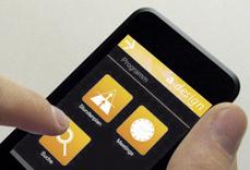 Mobile Ansicht der A-Design Organizer Software Beispiel Programm