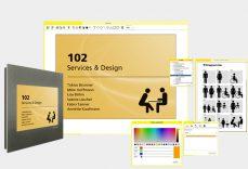 Funktionsbild der Digital Signage Software Organizer, HTML5